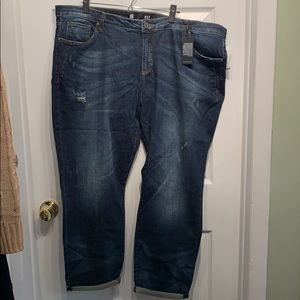 Kut from the Kloth Jeans 22w NWT Catherine Slouchy